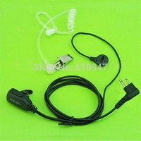 CLW Air Acoustic Earpiece Headset для Kenwood TH-42 D7 TK378 PUXING Walkie Talkie Two Way CB Ham Radio C0049A Fshow