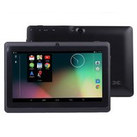 Wholesale Q88 2g - Cheap Tablet PC 7 inch Android 4.4 Q88 Allwinner A33 Quad Core Tablet PC Dual Camera Bluetooth WiFi