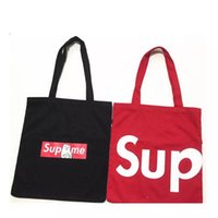 Wholesale N Shop - Rip N Dip Sup Shopping Bags Middle Finger Cat Bags Black Red Color Luggage Bags