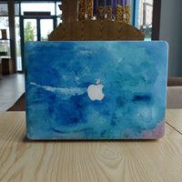 Blue macbook наклейка macbook decal front Decal Skin Air / Pro / retina 13/15