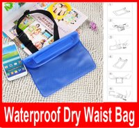 Wholesale Wholesale Jiayu - waterproof pouch waist bag for iphone samsung xiaomi jiayu htc waterproof universal sports bag for surfing swimming new fashion