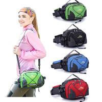 Wholesale Men Shoulder Bag Fanny Pack - Wholesale-Fashion Waterproof Running Belt Bum Waist Pouch Men Women Portable Fanny Pack Camping Sport Hiking Shoulder Bag Travel Bags