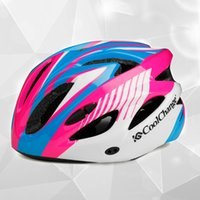 Wholesale Helmet Red - Cycling Cellular Red Helmet A Integrated Molded Ultralight Racing Bike Riding Helmet 2 Colors for select new