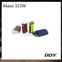 Wholesale Ergonomic Design - iJoy Maxo 315W Quad 18650 TC Box Mod Ergonomic Design Firmware Upgradable Customizable Appearance 100% Original