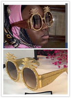 Wholesale pineapple sunglasses for sale - Group buy Limited edition sunglasses Specially designed style pineapple shape frame popular protection sunglasses fashion summer style for women