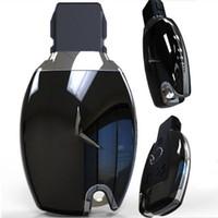 mercedes-benz clés shell achat en gros de-Remplacement 2 3 bouton smart shell clé à distance titulaire cas couverture pour mercedes benz E200 E260 E320 GLK300 Glk350 GLA200 CLA SLK ML