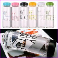 Wholesale 6 Colors Ml Plastic Fational Sport Fruit My Bottle Lemon Juice Readily Cup Drinking Water