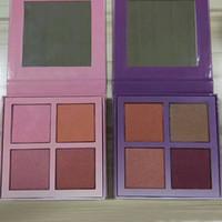 Wholesale Makeup Kits For Girls - 2017 Latest Brand Blush Makeup palette kit Face Blush Powder Blusher Palette Cosmetics for girls teens 4 colors