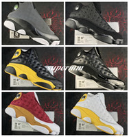 Wholesale super cats - 2018 Chaussureso 13 Black Cat 3M Ellis Kawhi Leonard All Star Game Mens Basketball Shoes for Super Quality XIII Designer Sports Sneakers