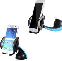 Wholesale Bluetooth Pdas - Universal 360° Car Windscreen Holder Dashboard Mount Stand Car Phone Holder Air Vent For All Mobile Phone