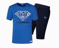 suministros de diamantes sueltos al por mayor-s-5xl envío gratis Nuevos Hombres Clásico Color Sólido de Manga Corta Suelta homme Sport Diamond Supply Camisetas Chándales