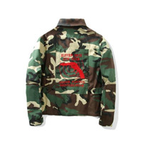 Wholesale Eleven S - VETEMENTS Eleven Inch Gun Club Camo Jackets Men Hip Hop Camouflage Dover Street High Quality Kanye Pyrex Jaket Windbreaker Coats