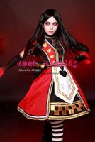 Wholesale Dress Imperial - Wholesale-Alice Madness Returns Imperial family Poker Cosplay lolita Costume Party Dress customized