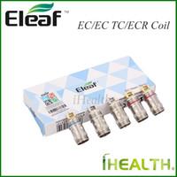 Wholesale ti coil online - Authentic Eleaf EC Coil Head for iJust Melo Melo Melo Melo Mini atomizers EC ohm EC Ti ohm EC Ni ohm ECR