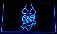 Wholesale Coors Neon Signs - LS105-b Coors Light Beer Bikini Bar Pub Neon Light Sign