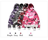 Hoodies Тактическая камуфляжная капюшон Pullover High Street Cotton Fashion Hip Hop Streetwear Casual Loose Hoodie Autumn