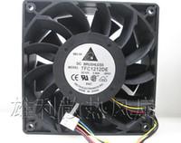 Wholesale Intel I - Delta TFC1212DE 12V 3.9A 12cm 120*120*38mm 4 line I fan fan violent large fan