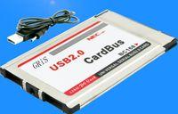 Wholesale nec laptops resale online - Original New Laptop PCMCIA to Port USB CardBus M usb expansion card port usb hub Adapter NEC chipset Build in Inside hide