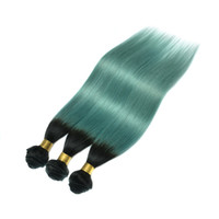 Wholesale human hair weave bonding for sale - Ombre Extensions Two Tone peruvian hair bundles Extensions Weave Bundles Human Direct Product Hair Dye Premium Now Hair Products