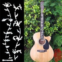 Wholesale Electric Guitar Stickers - Acoustic Electric Guitar Inlay Sticker Copy Fret Board Sticker - Tree of Life