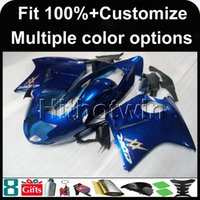 23colors + 8Gifts Injection mold blue flames 1997 1998 1999 2000 2001 2002 2003 CBR1100XX 97-03 Blackbird motocicleta Carenado para Honda