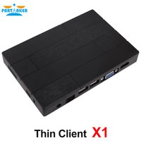 Wholesale 512m 2g - Thin client X1 built in RDP Protocol 7.0 with 4 USB ports 512M RAM 2G Flash For School And Office