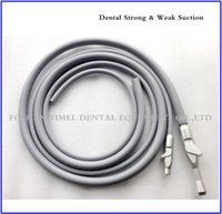 Wholesale Dental Tubing - Dental Unit 2Pcs Saliva Ejector Suction Valves SE HVE Tip Adaptor and 2pc Tubing Hose Tubes