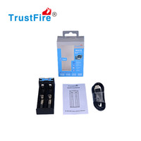 Wholesale Lithium Rechargeable Battery 5v - 2016 Newest TrustFire TR-016 Universal Rechargeable 3.7V Lithium Batteries Charger 5V USB Charger Free DHL