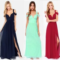 Wholesale Greek S - Maxi Dress 2014 New Fashion Women's Greek style Long Section Elegant Chiffon Folds Deep V-neck Luxury Sexy Maxi Dress