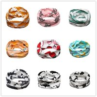 Wholesale Winter Muffler Kids - INS Baby Neckerchief Kids Scarves Winter Boys Girls Scarf ring muffler wholesale Toddler Infant Clothing Accessories Children Christmas Gift