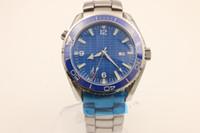 Wholesale Black Titanium Watch - luxury brand watch men hand wind watch Skyfall titanium Planet Ocean James bond automatic movement watches men dress wristwatches