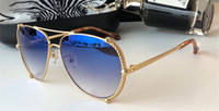 Wholesale dark blue goggles online - 5060 Sunglasses Women Brand Designer Roberto Dark Brown Snake Print Gold Brown Luxury Sunglasses UV Protection Oval Frame Come With Package