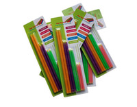 Wholesale Clips For Bags Food - 100lots New Arrival Magic Bag Sealer Stick Unique Sealing Rods Great Helper For Food Storage Sealing cllip sealing clamp  clip