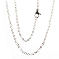 """Wholesale Glass Floating Charm Locket China - 1pcs super lowest price Silver Stainless Steel 20"""" 2.3mm necklace Chains for living glass lockets floating charms"""
