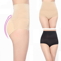 Wholesale Background Size - Hot Beauty Slim Body Shaper Underwear High Waist Transparent Background Abundant Buttocks Charming Sexy Control Pants Female 3 sizes