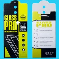 Wholesale empty retail packaging - Empty Retail Package Box Pack Bag Premium Tempered Glass 9H Screen Protector for iphone X 8 7 Plus Samsung Galaxy S8 S9 customlogo
