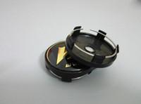 "Wholesale Wheel Black 18 - Car styling High quality 4pcs lot WORK WHEELS VS CENTER CAPS BLACK GOLD 17"" 18"" 19"" VS-XX 18"" 19"" VS-KF REZAX"