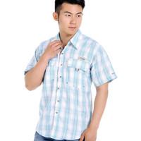 Wholesale Camisas Moda - Wholesale-A camisas de hombre 2016 nueva primavera verano moda Chemise Homme para hombre camisas de vestir de manga corta para hombre
