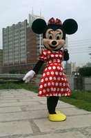 Wholesale Red Minnie Mouse Mascot Costumes for Adults