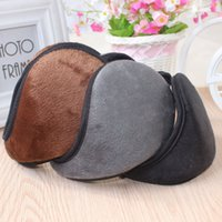 Wholesale Winter Ear Cover Wholesale - Super soft men ear warmer cover rabbit hair ear warm winter women ear muffs 4 colors