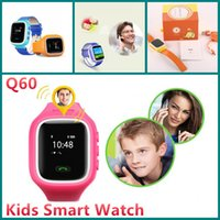 Smart Kid Safe GPS Watch Montre bracelet Q60 SOS Call Location Finder Locator Tracker pour Kid Child Anti Lost Monitor Baby VS U8 GT08