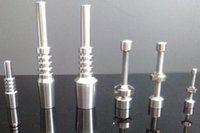 Wholesale bong china for sale - Group buy made in china Titanium Nail Grade Titanium For mm mm mm oil rigs glass bongs Smoking Glass Bongs Accessories