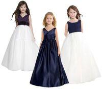 12-летние платья оптовых-The New Girl Dress детские свадебные платья для девочек-цветочниц Принцесса Age of Bitter Fleabane Горькая юбка Fleabane Вечернее платье на день рождения