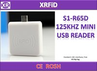 Wholesale Smart Reader Android - S1-R65D 125KHZ mini USB reader For Android phone Only Read Function RFID Smart Reader