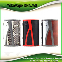 Wholesale Triple Batteries - Original Yoko Vape Buster DNA250 Box Mod TC VW Triple 18650 Battery DNA 250W Ecig Vape YokoVape Mods 100% Authentic DHL 2234006