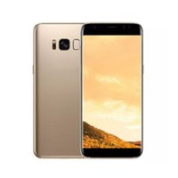 Goophone S8 + S8 Plus 6.2inch Curved Android 7.0 Quad core Mostrar Octa Core 1G 4GB Mostrar 4G 128GB Mostrar 4G Lte WIFI 3G GPS Unlocked Cell Phone