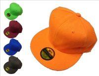 Wholesale Red Base Ball Hat - Blank Plain Snapback Hats Visors Unisex women Men's Hip-Hop adjustable bboy sports Base ball Cap sun hat summer Fashion Accessories