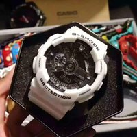 Wholesale Divers Men - AAA 2017 Top Quality men Sports led Watches LED Digital 110 G 100 Wristwatch Boy girl 200m Waterproof Shock Watch Original Box