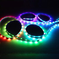 Wholesale Dream Boards - LED Flexible Dream Strips Light DC12V 5050SMD RGB 30LEDs 60LEDs 120LEDs 5M Roll Color Changeable Board Remote Controller China Wholesales