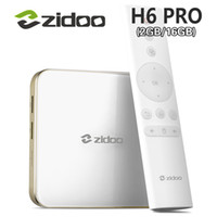 3 stücke ZIDOO DDR4 H6 PRO Android 7,0 4 Karat 10 Bit HDR TV Box Allwinner H6 2 GB 16 GB Dolby Digital DTS-HD Smartcolo Media Player